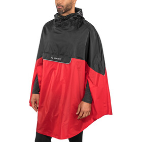VAUDE Covero II Poncho indian red